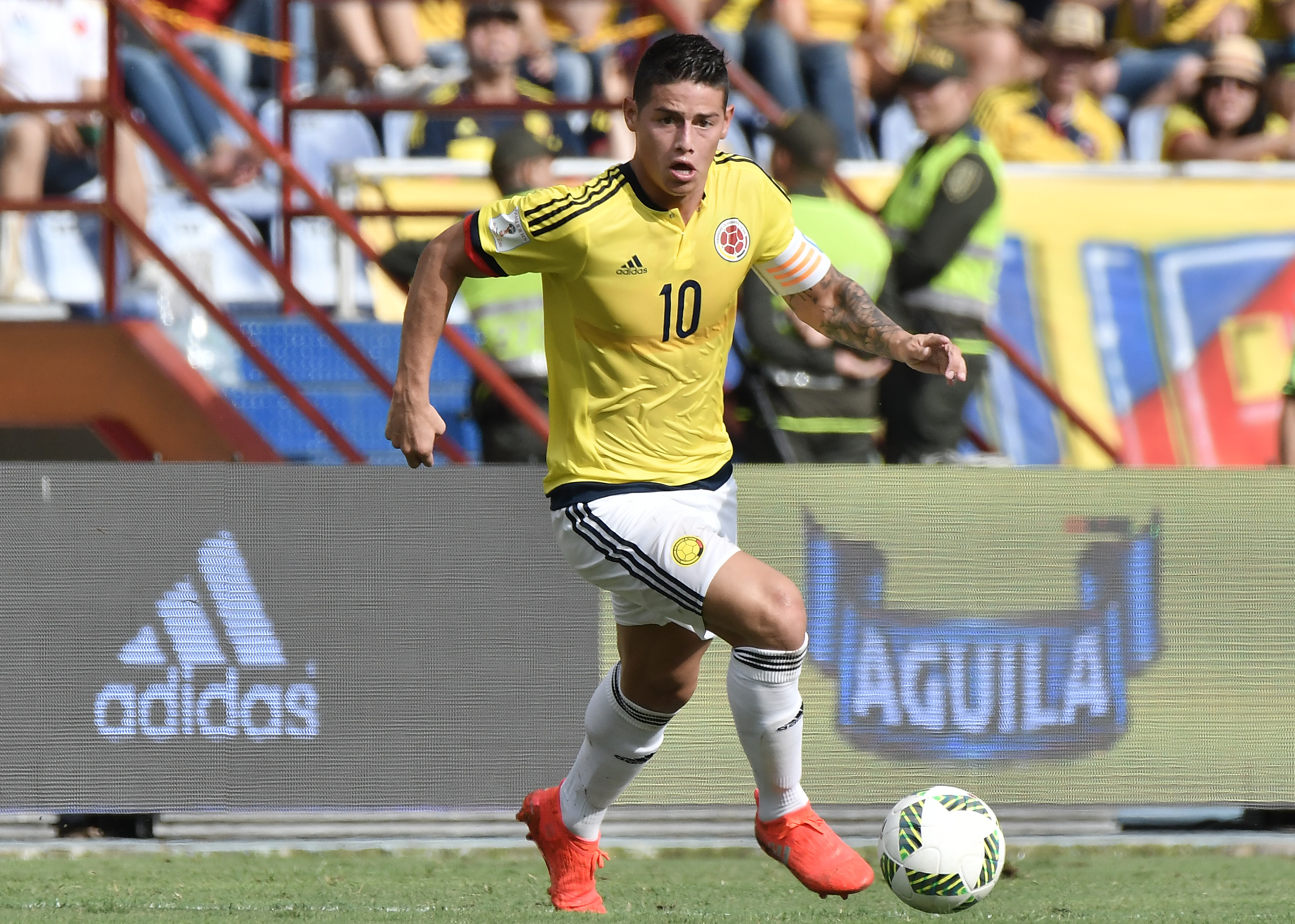 Colombia Hope to Have James Rodriguez Match Fit Against Uruguay
