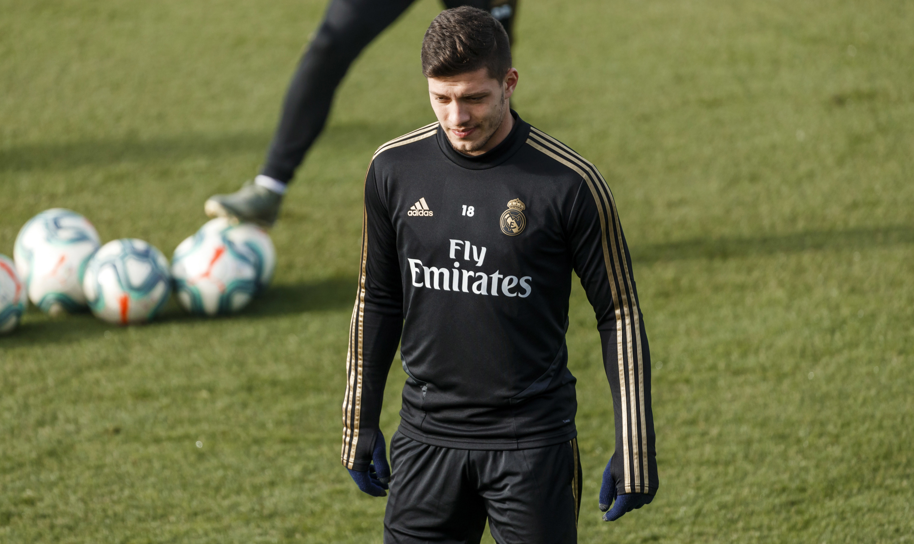 Real Madrid: Luka Jovic and Gareth Bale miss Wednesday's training with bizarre illness