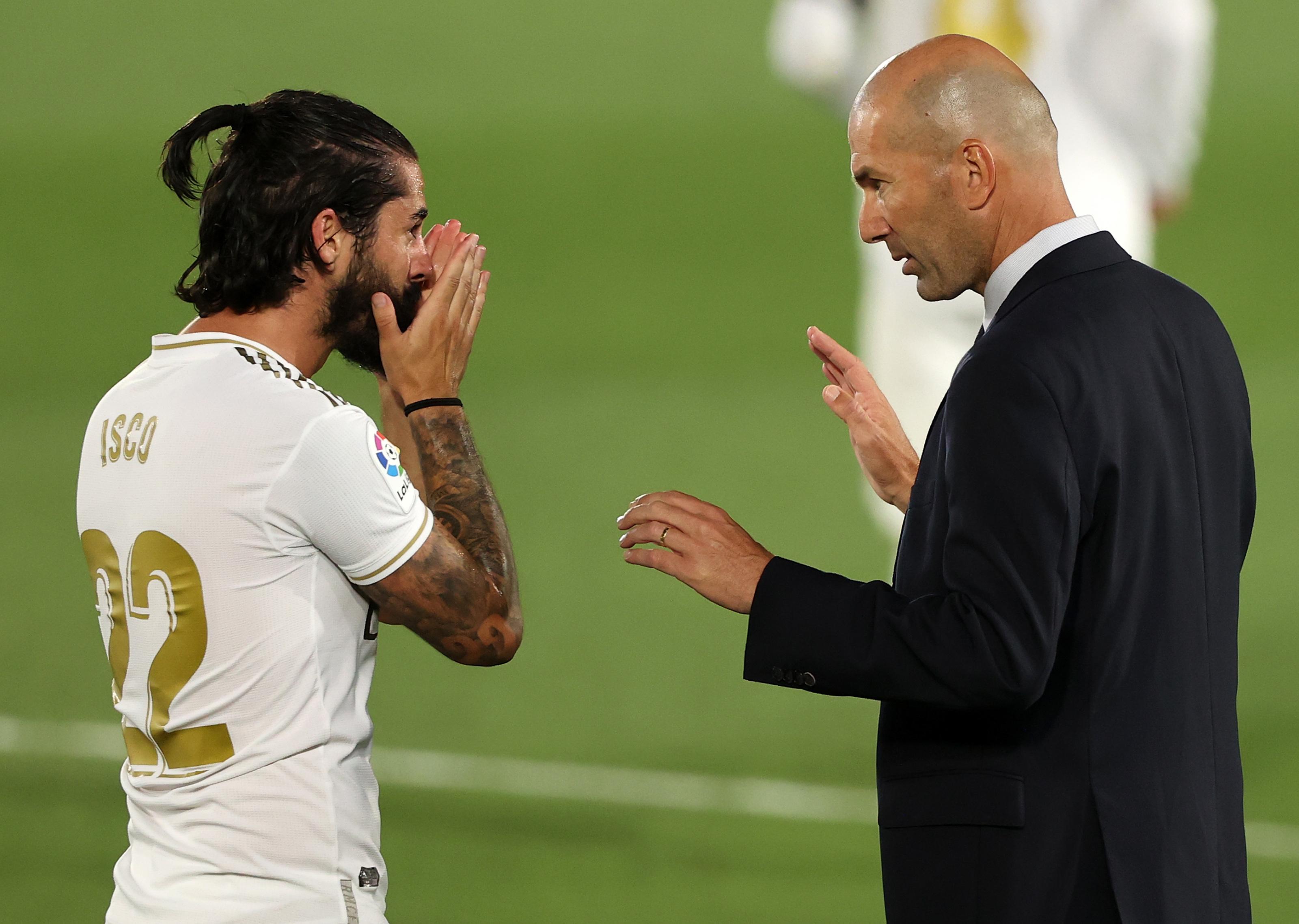 Real Madrid: Zinedine Zidane will decide the future of Isco